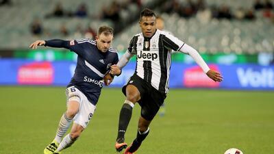 Juventus vence con apuros al Tottenham en partido amistoso