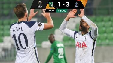 Tottenham se recupera tras vencer a Lugodorets