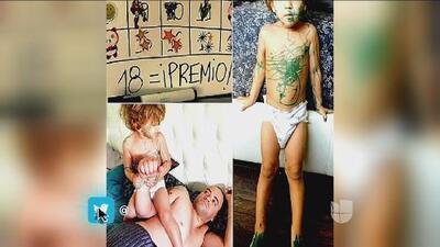 ¡Nacho compartió fotos de las travesuras de su hijo!