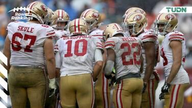 Se aferran los 49ers a la cima de los Power Rankings TUDN
