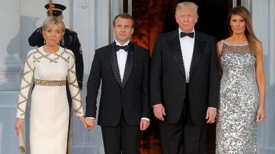 A Melania Trump siempre le ha gustado el lujo, pero su vestido Chanel para la cena de estado es un verdadero exceso