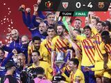 Con doblete de Lionel Messi, Barcelona vence al Athletic y conquista la Copa del Rey