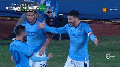 'La noche del Guaje', David Villa se roba el show y mete a NY City a las semifinales de conferencia