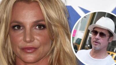 Britney Spears quiere con Brad Pitt