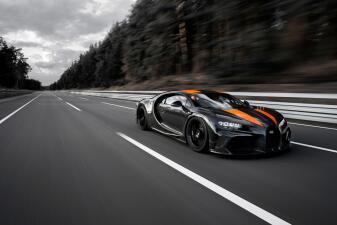 El Bugatti Chiron es ahora el carro más rápido del mundo tras superar las 300 mph
