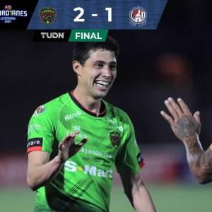 Resumen | FC Juárez supera 2-1 al Atlético de San Luis en la Jornada 14