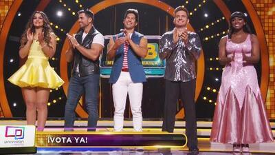 Estos son los competidores que estarán sometidos al voto popular en Mira Quién Baila All Stars