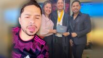 Larry Hernández amanece crudo a horas de reencontrarse con su exesposa para la graduación de su hijo mayor