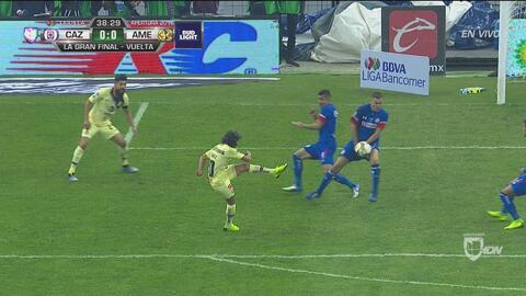 Lainez lo intentó, pero Aguilar sigue siendo un muro