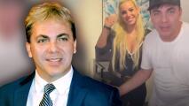 Del escándalo no dice ni pío, aunque Cristian Castro deja saber que su novia lo tiene bajo control