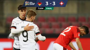 ¡Sin tregua! Alemania y Suiza deleitan en la UEFA Nations League