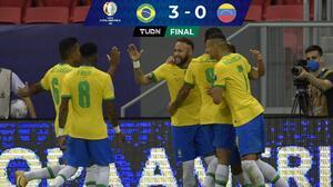A medio gas, Brasil golea a Venezuela en inicio de Copa América