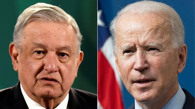 Migración, seguridad y covid-19: los temas que tratarán Biden y AMLO en reunión virtual
