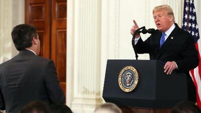 ¿Realmente el periodista Jim Acosta fue desafiante? Debatimos lo que sucedió con Trump en la Casa Blanca