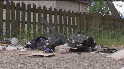Destinan recursos para retirar basura de callejones en Modesto