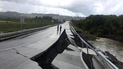 Fuerte sismo de magnitud 7.6 sacude el sur de Chile, pero no hay reportes de heridos