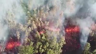 Miles de evacuados en Hawaii por la erupción del volcán Kīlauea