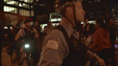 Detuvieron a 26 adolescentes durante disturbios en el centro de Chicago