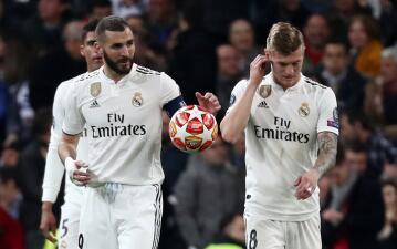 En fotos: Real Madrid, eliminado y humillado por Ajax en Octavos de Final de Champions League
