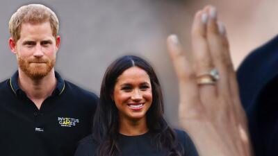 No es un simple anillo el que Harry le regaló a Meghan: al descubierto los detalles íntimos que encierra la joya