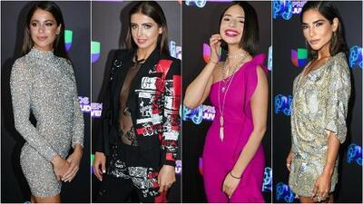 Las 11 famosas que dejaron huella de estilo en Premios Juventud 2019