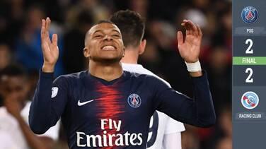 El PSG no pasó del empate ante el Estrasburgo y deberá esperar para ser campeón