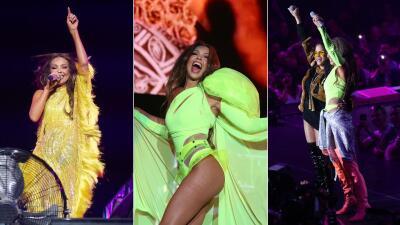 En fotos: Thalía y sus espectaculares atuendos para #LasQueMandan