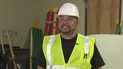 Un proyecto de la ciudad de Los Ángeles busca motivar a los trabajadores de construcción a tener una carrera