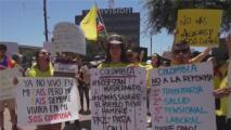 """""""Queremos enviar mensajes de unidad y resistencia"""": colombianos en Houston realizarán más protestas por crisis en su país"""