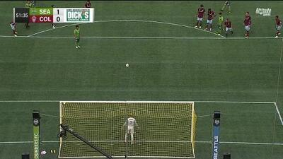Nicolás Lodeiro anota de penal y Seattle Sounders ya derrota 2-0 a Colorado Rapids
