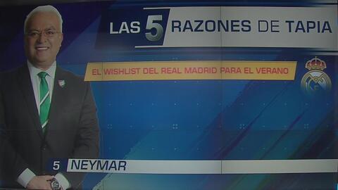 ¿Real PSG ? Luis Omar Tapia dio su lista de cinco jugadores que necesita contratar Real Madrid