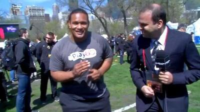 Danny Shelton, el peruano de la NFL