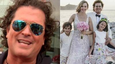 Carlos Vives revela qué fue lo más hermoso de haber renovado sus votos matrimoniales con Claudia Elena Vásquez