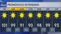Seguirá el calor con mala calidad de aire en Phoenix y el Condado Pinal