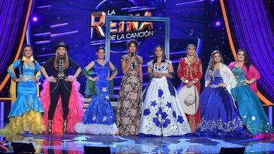 Sólo quedan siete finalistas en La Reina de la Canción y todas quieren tu voto