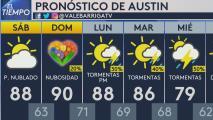 Fin de semana húmedo y caluroso, se podría registrar tiempo severo el próximo lunes