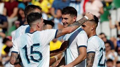 En fotos: La goliza de Argentina a Ecuador