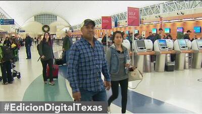 Aeropuerto de San Antonio registra denso tráfico aéreo