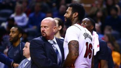 NBA suspende a James Johnson y Serge Ibaka luego de su pelea
