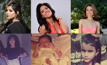 Cuando eran casi bebés: mira a las ganadoras de Nuestra Belleza Latina en su niñez