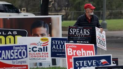 Las primarias del 2018 arrancan en Texas con el entusiasmo demócrata en su mayor punto