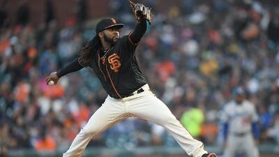 Johnny Cueto prepara su regreso con San Francisco tras cirugía de codo