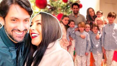 Inés Gómez Mont y su esposo se atreven a todo con tal de divertir a sus siete hijos