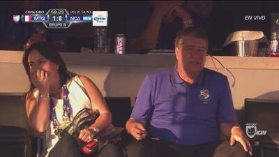 La cámara sorprendió al 'Bolillo' Gómez con su esposa ¡y se asustó!
