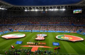 En fotos: Portugal e Irán empataron 1-1 en la Mordovia Arena; los lusos avanzan