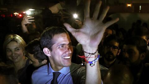 Guaidó responde al despojo de su inmunidad por parte de la Asamblea Constituyente de Maduro