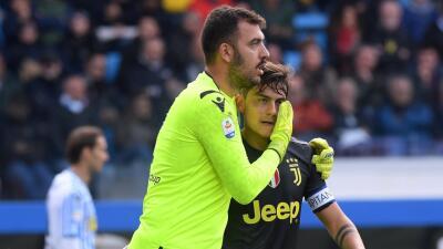 En fotos: SPAL sorprendió a la Juventus con un 2-1 y le arruinó el festejo anticipado del título