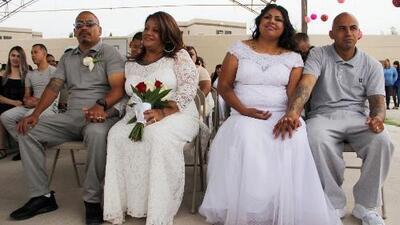 Prueba de amor: así se realizaron 63 bodas al mismo tiempo en una cárcel de México