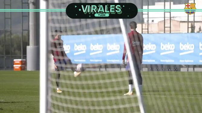 Las joyitas de Riqui Puig y Trincao con Barcelona