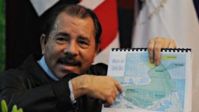 Ortega amenaza con retirar a Nicaragua de OEA por disputa con Costa Rica